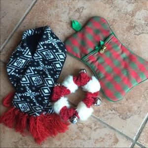 Winter pet christmas accessori